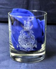 Royal Marines - Whisky Glass